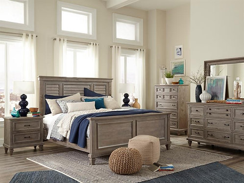 Cal Grey Bedroom Collection