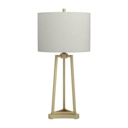 Gold Drum Table Lamp