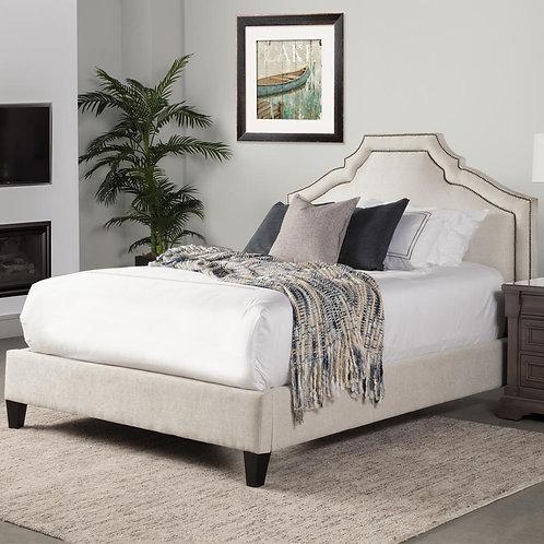 Cashlynn Cream Upholstered Bed