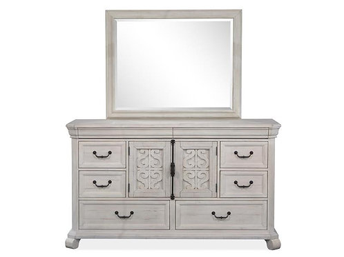 Boston White Dresser