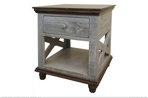 Flynn Grey End Table