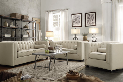 Claire Cream Sofa Collection