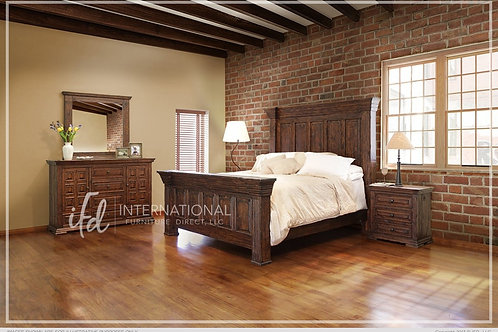 Francesca Brown Bedroom Collection