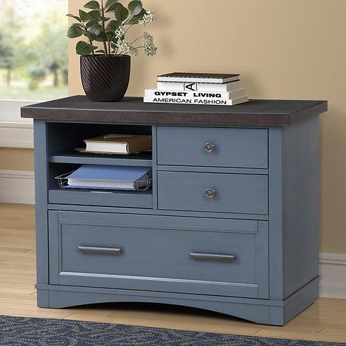 Amber Blue File Cabinet