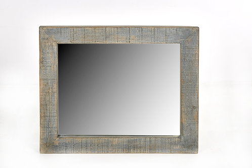 Cozumel Antique Blue Wall Mirror