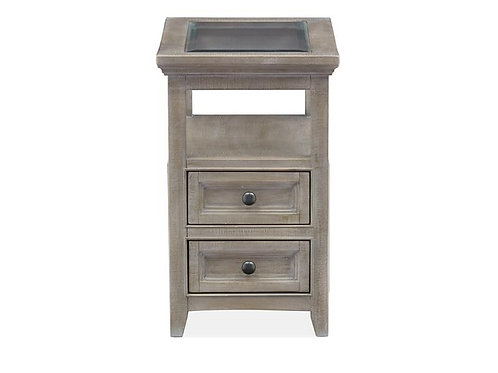 Helena Grey Chair Side Table