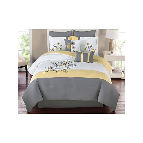 Cathy Yellow Bedding Collection
