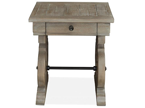 Boston Grey 2 End Table