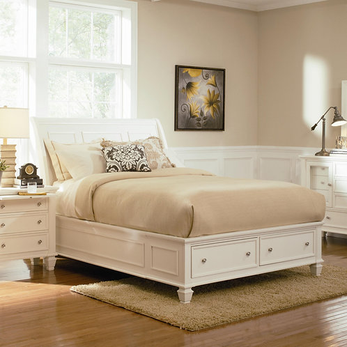 Glenmore White Bedroom Collection