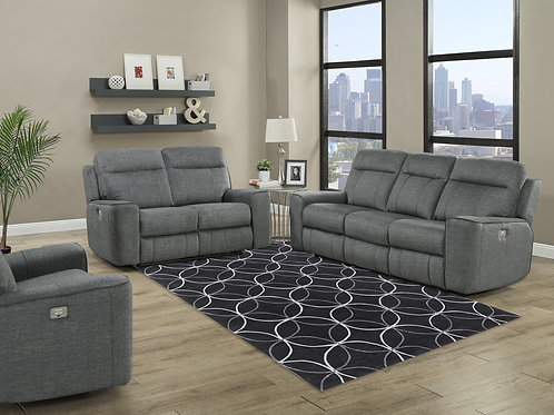 Patricia Titanium Sofa Collection