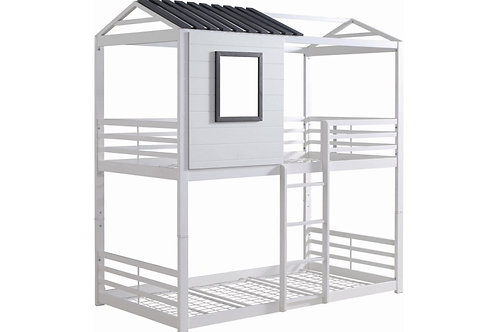 House-Themed Bunk Bed