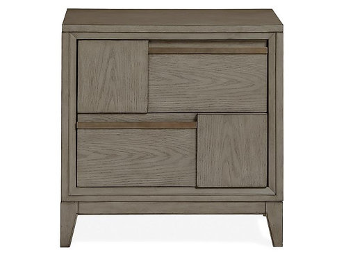 Moa Grey Nightstand