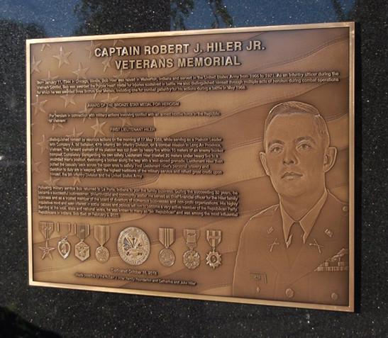 Cast Bronze image plaque