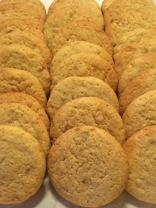1/2 pound Fresh Lemon Ginger Cookies
