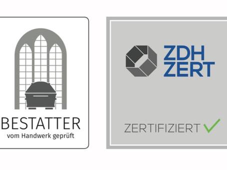 Das Audit 2021 zur Bestätigung unserer Zertifizierung haben wir erfolgreich absolviert.