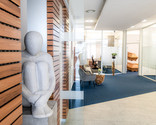 Eingangsbereich Büro Rastatt