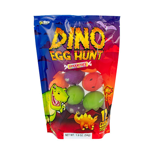 Dino Egg Hunt Bag with Smarties