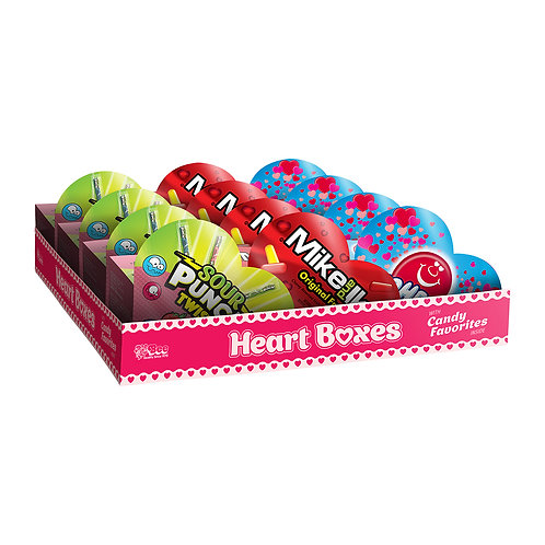 Heart Boxes with Assorted Candy