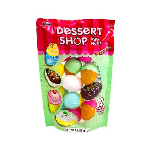 Dessert Shop Egg Hunt Bag with Smarties