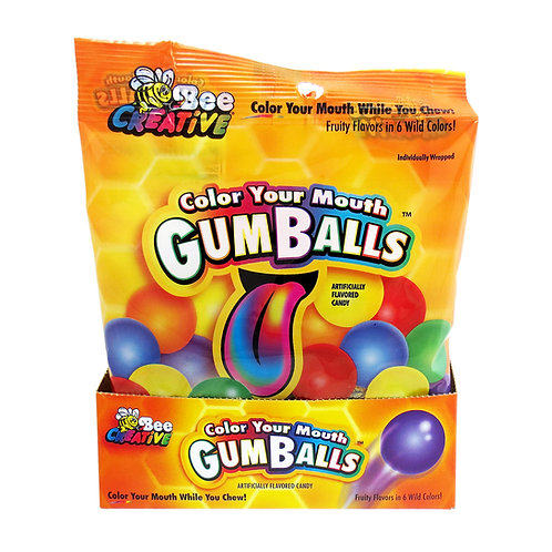 Color Your Mouth GumBalls