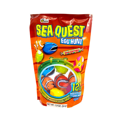 Sea Quest Egg Hunt Bag with Smarties