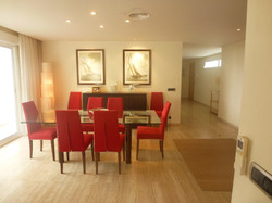 Eneas dining and entrance hall