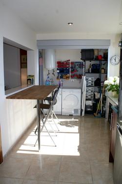 'hidden' utility room