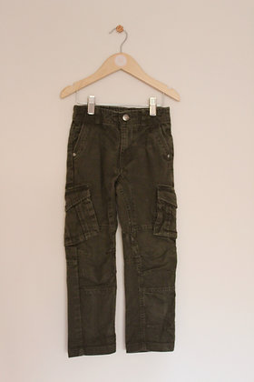 George woven cotton utility style trousers (age 5-6)