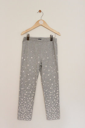 Gap Kids grey leggings with star print (age 10)