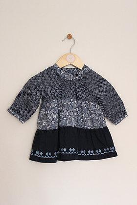 Vertbaudet cotton tunic dress (age 6 months)