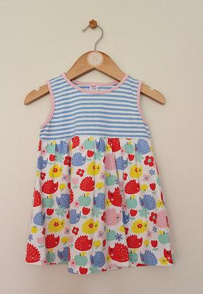 2 x Mini Club jersey sundresses (age 18-24 months)