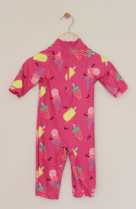 Mini Club ice lolly all in one sunsuit (age 9-12 months)