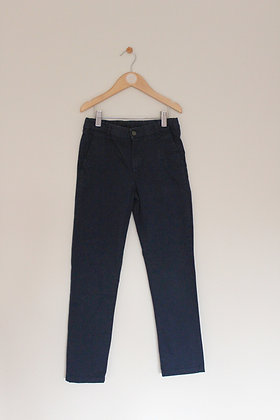 M&S navy chinos (age 8-9)