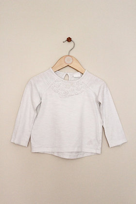 F&F long sleeved jersey top (age 12-18 months)