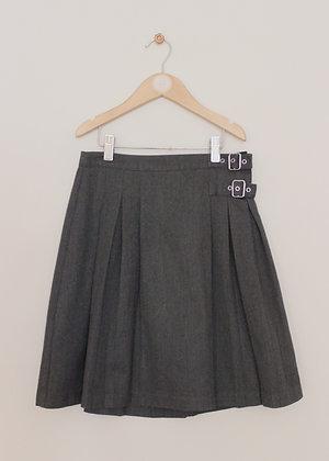 Next grey kilt style school skirt (age 11)