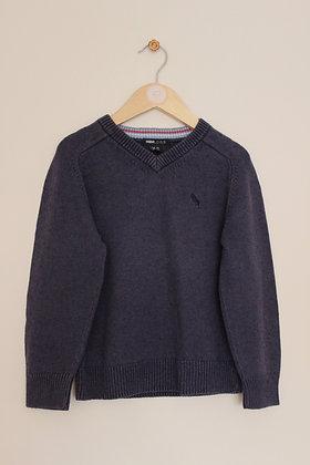 H&M blue v-neck jumper (age 3-4)