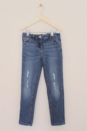 Next mid blue ripped jeans (age 9)