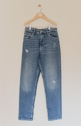 H&M relaxed high waist jeans (age 11-12)