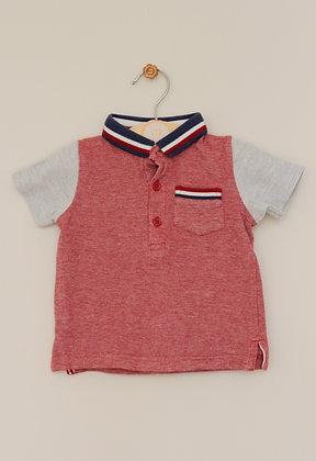 Matalan woven polo shirt (age 3-6 months)