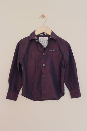 Matalan purple pearlescent shirt (age 4)