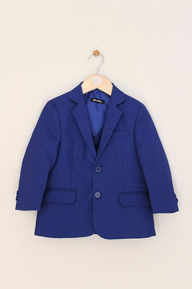 Vivaki 3 piece electric blue suit (age 2)