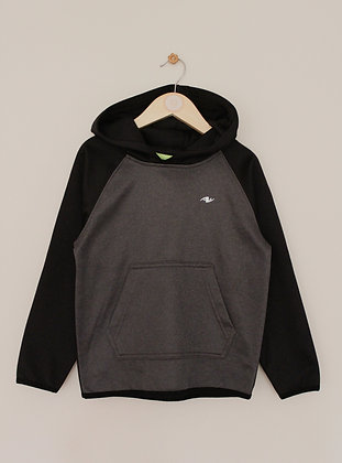 Athletic Works activewear grey and black hoodie (age 6)