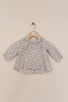 Vertbaudet spotty design cotton top (age 6 months)