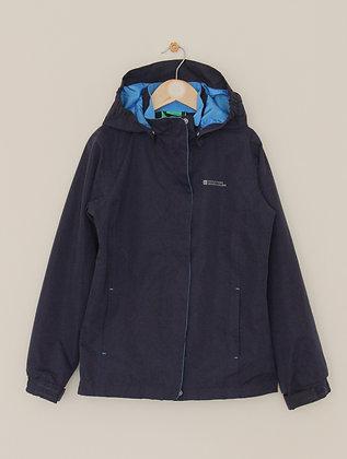 Mountain Warehouse navy waterproof jacket (age 9-10)