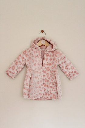 George pink cat dressing gown (age 3-6 months)
