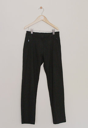 M&S girls black school trousers (age 9-10)