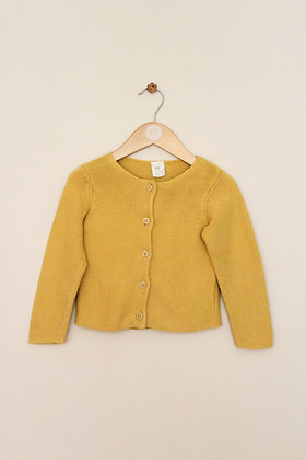 H&M textured knit cotton cardigan (age 12-18 months)