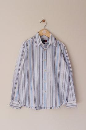 Ben Sherman cotton rich striped shirt (age 7-8)
