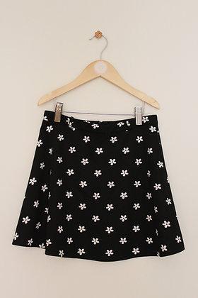 Yumi daisy print skater skirt (age 9-10)