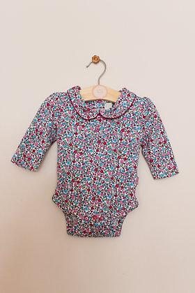 Jojo Maman Bebe ditsy floral bodysuit (age 3-6 months)